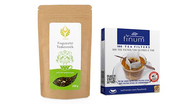 21. századi fogyókúrás tea