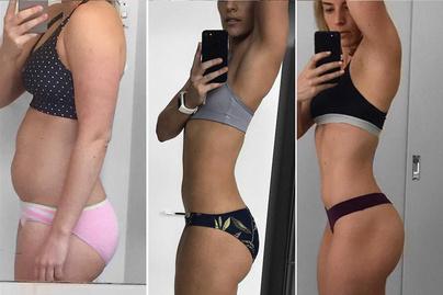 hat hónapos fogyás előtte és utána)