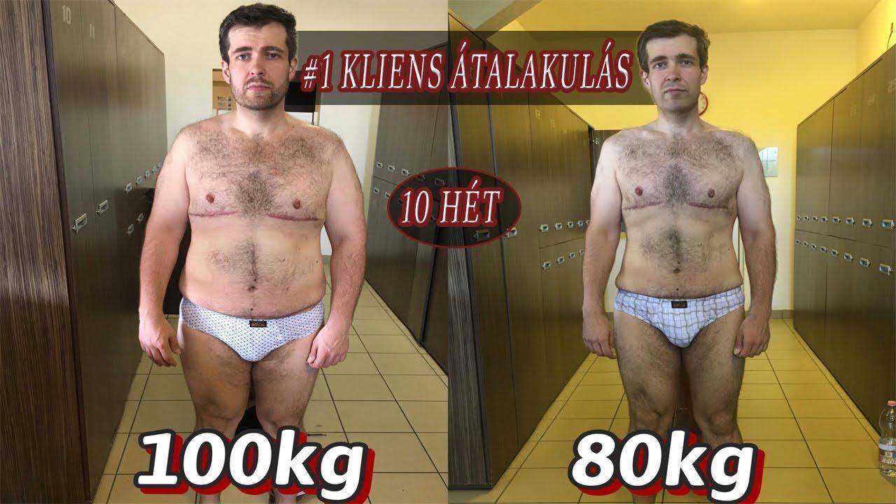 4 hetes fogyás átalakulás)