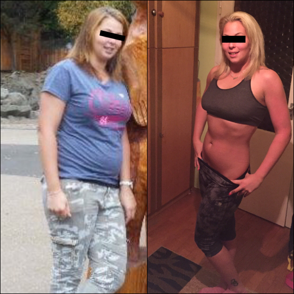 30 kg súlycsökkenés különbség