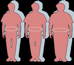 egy kövér ember gyorsabban fogy)