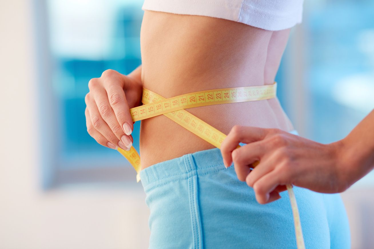 súlycsökkenés mérések derék