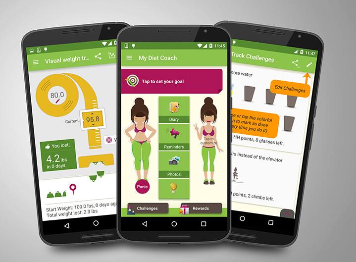 okostelefonos fogyókúrás alkalmazások