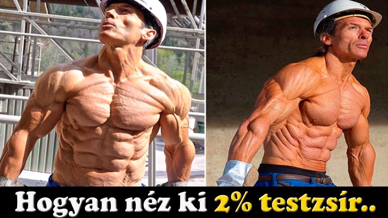 egészséges módja a testzsír elégetésének)