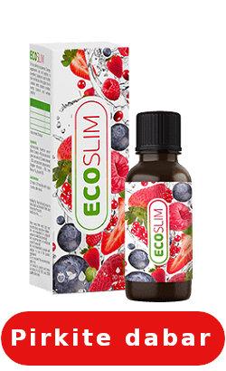 eco slim kaip vartoti