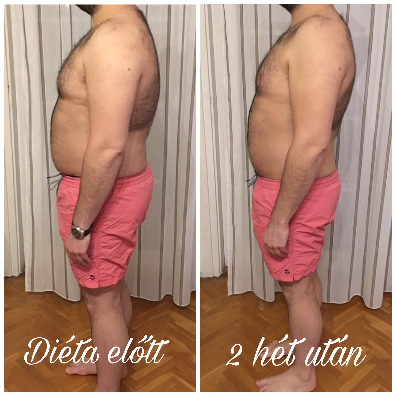 egészséges fogyás 2 hét