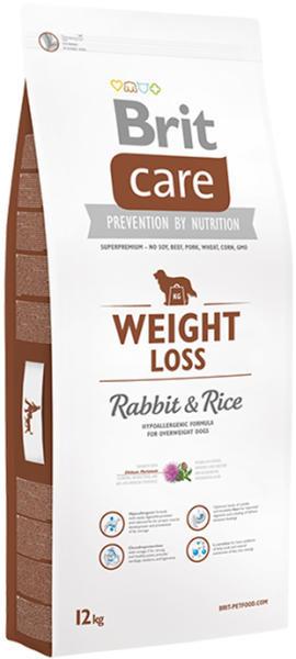 BRIT Care fogyókúra nyúl; Rizs 12 kg Kutyák Étel és jutalom Száraz étel
