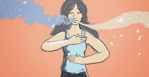megfelelő légzés a fogyáshoz
