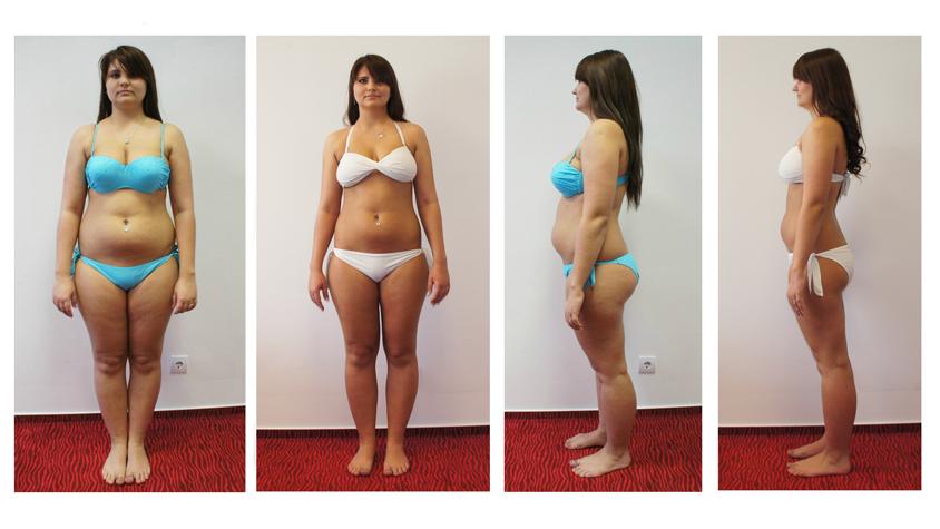 9 hetes fogyás eredményei)