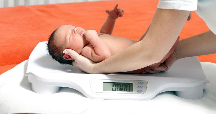 9 százalékos fogyás újszülött