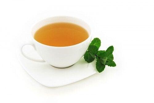 a menta teától fogyhat)