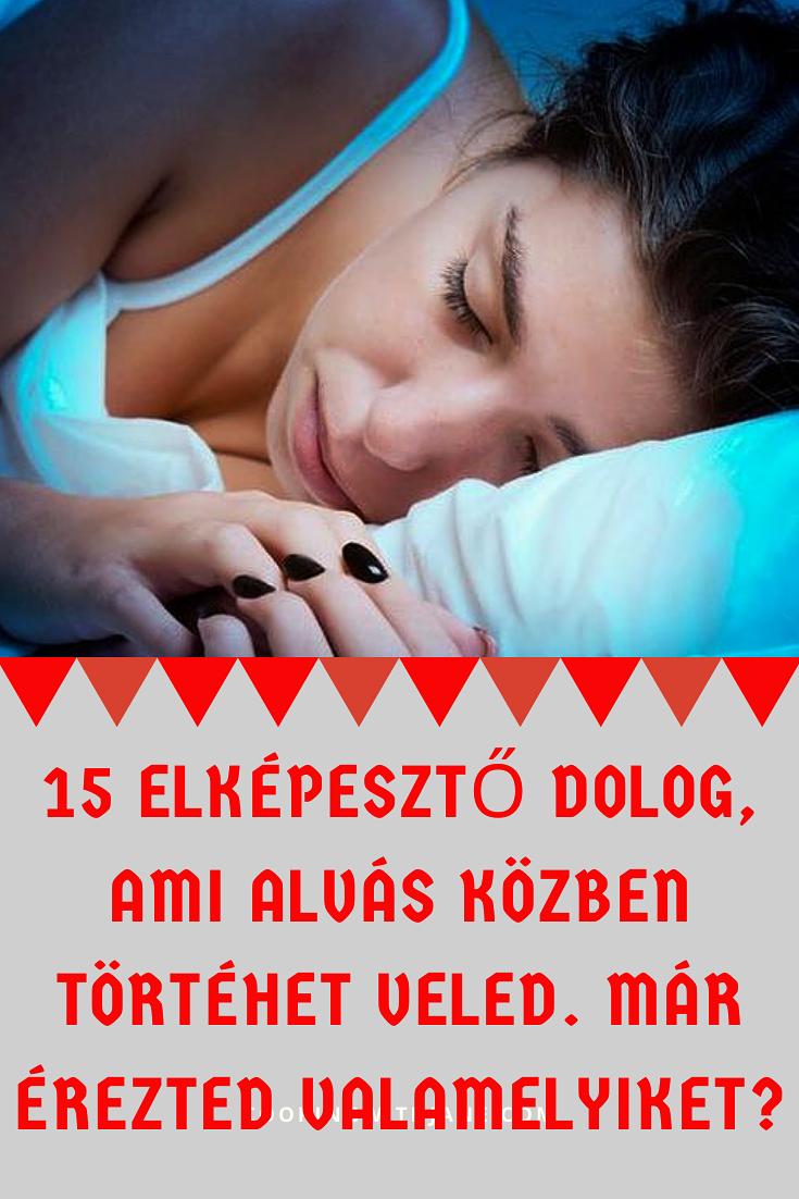 fogyjon gyorsan alvás közben