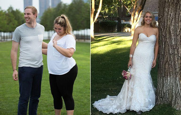 menyasszony fogyás történetek