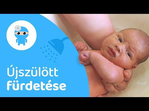 az újszülött kezdeti fogyása