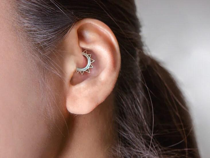 tragus fogyás piercing)
