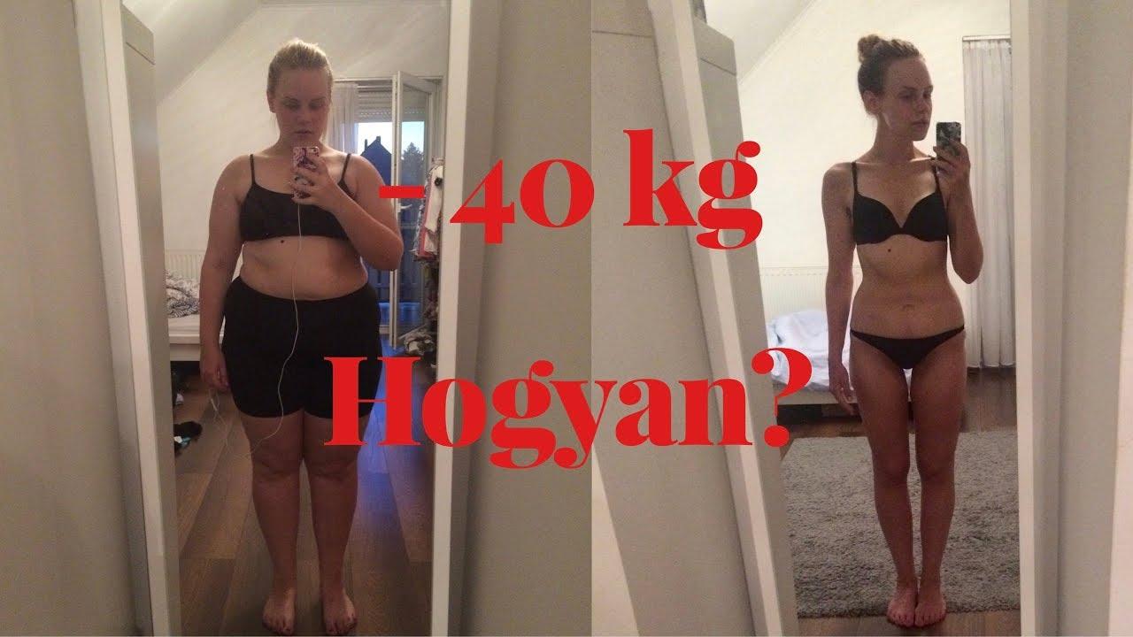 egy hónap alatt hatalmas súlyt veszít)