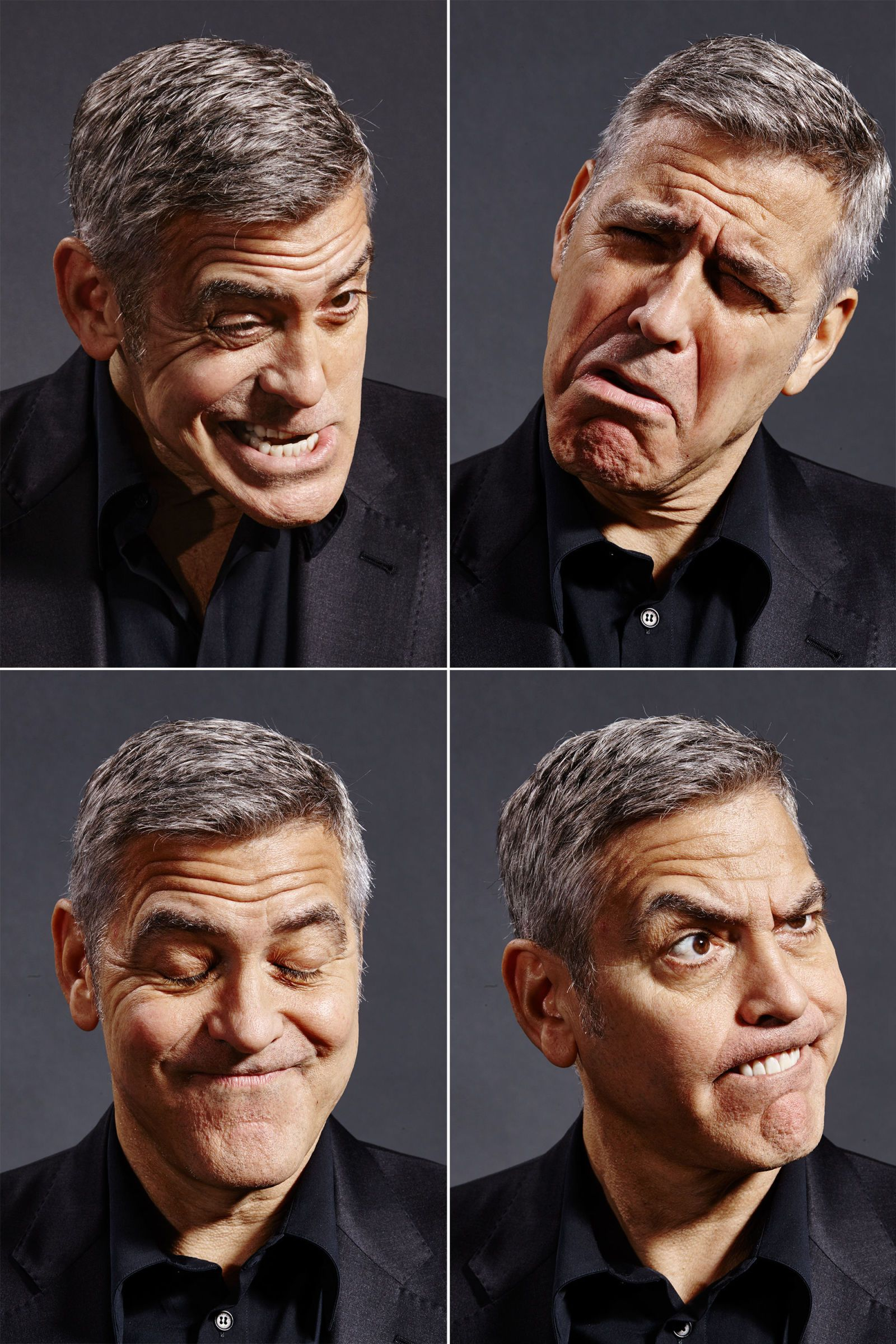 hogyan fogyott le George Clooney)