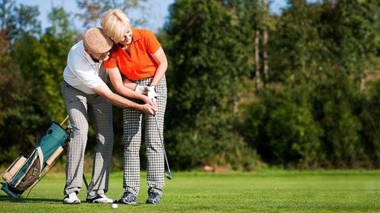 golf előnyös a fogyás