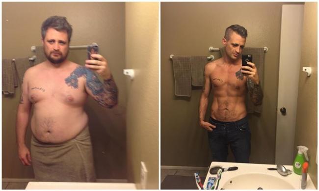 5 kilós fogyás előtt és után