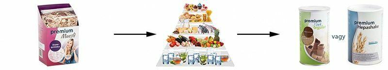 fogyasztásra kész ételek fogyás