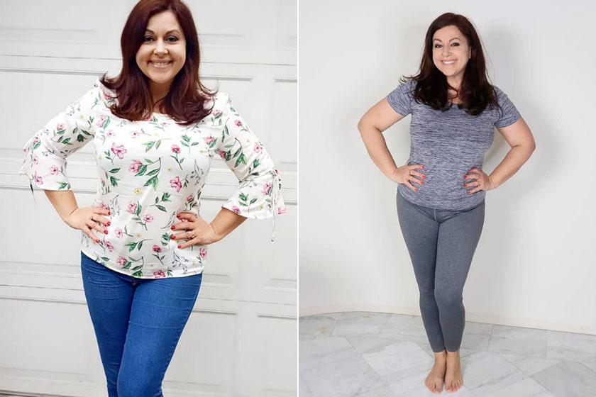 Peller Mariann 10 kilót fogyott - Ennyire vékony lett 10 hónap alatt - Hazai sztár | Femina