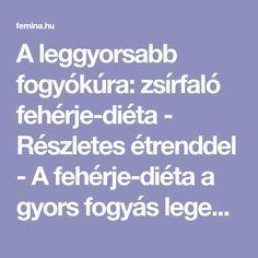 fogyás az egészséges élet érdekében)