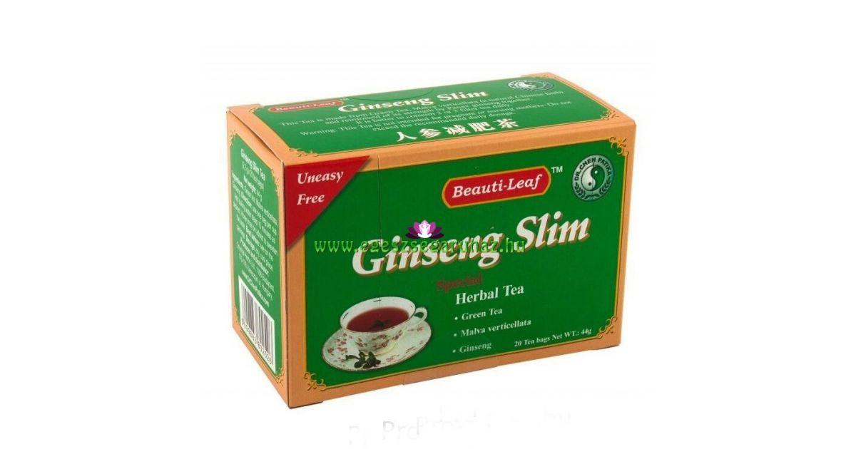 ginzeng zsírégető tea