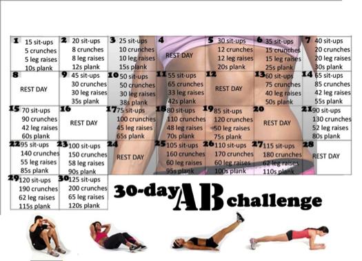 30 napos plank kihívás! Döbbenetes átalakulásra számíthatsz... Fotók!