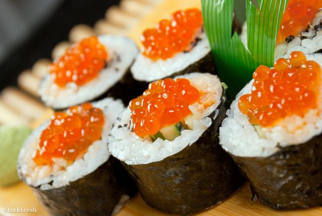 legegészségesebb sushi tekercs a fogyáshoz