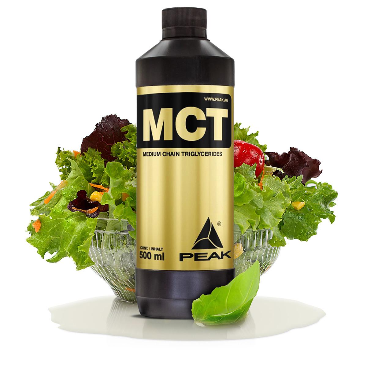 MCT olajjal friss kókuszdiókból nyerve