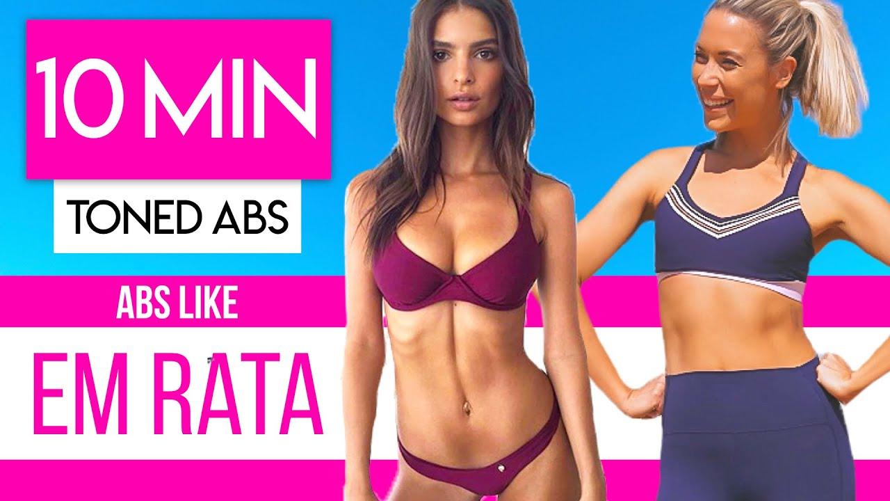 Fat killer ćwiczenia, Mięśnie brzucha
