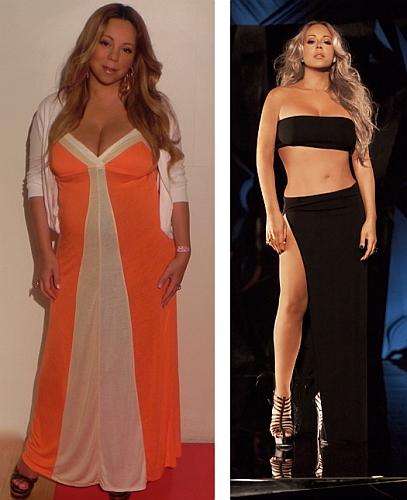 Mariah Carey ismét brutálisan meghízott! - Mariah fogyás