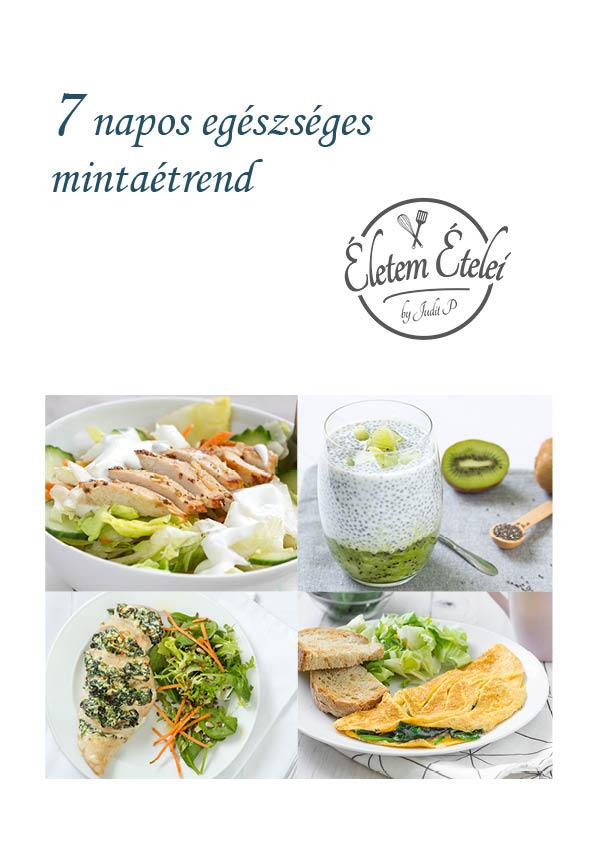 egészséges fogyókúrás étkezési példák