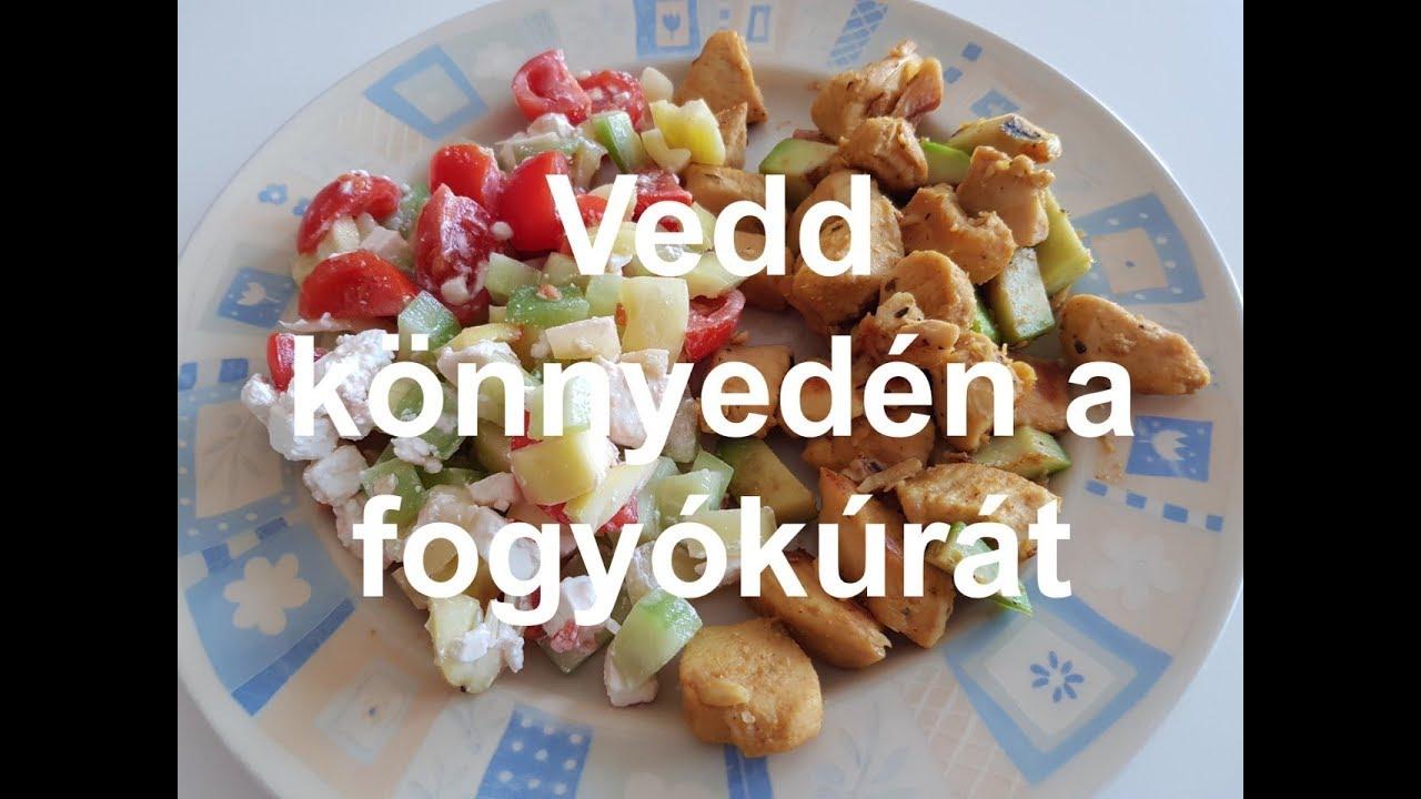 fogyókúrás étkezések egynek