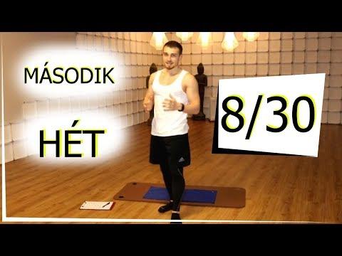 testzsír zsírégetés kihívás 2. nap)